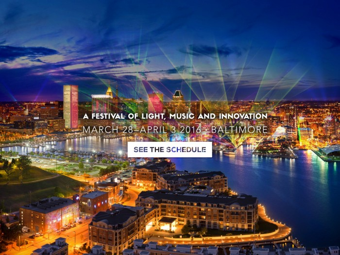 Baltimore City's 1st Light City Festival Video