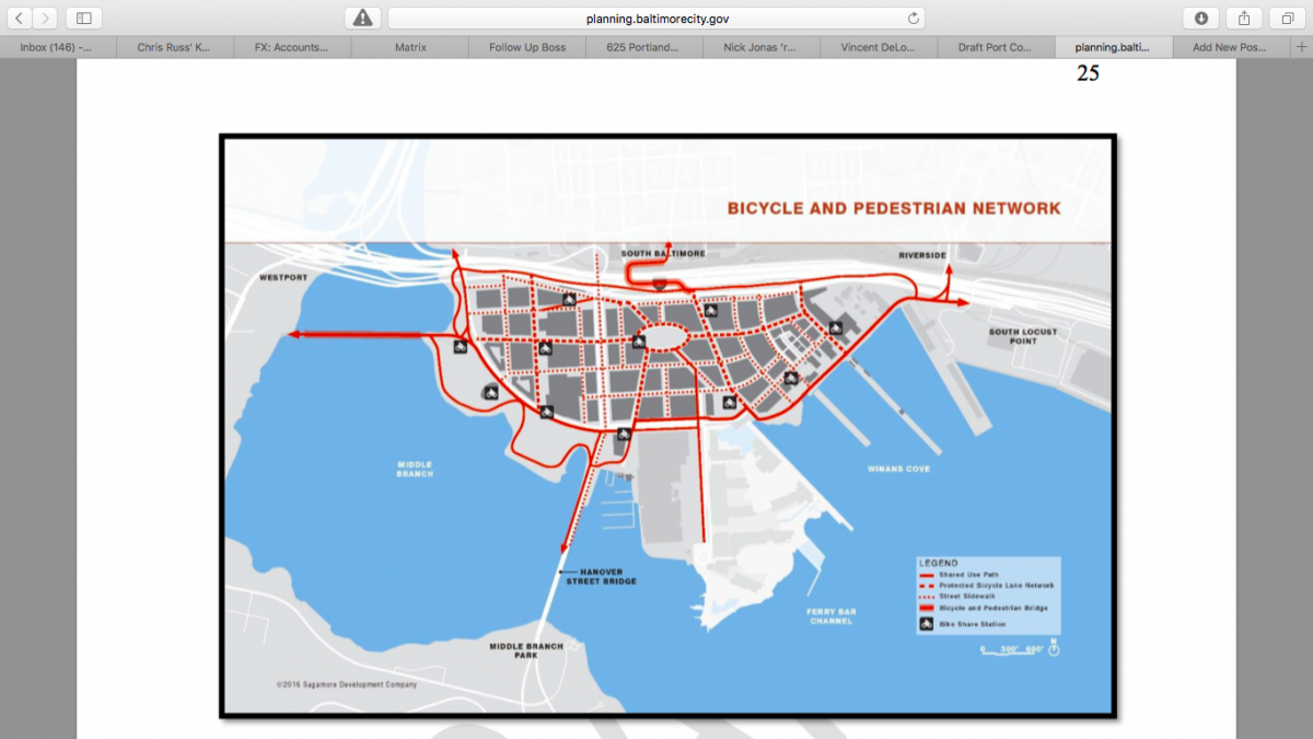 Want to see the master plan for Plank's Port Covington Community?
